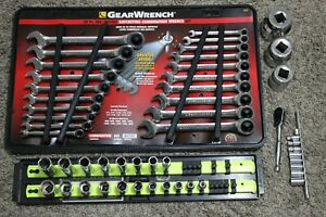 Tool Set Sockets Wrenches Ratchets Gearwrench Craftsman Stanley T