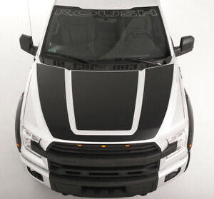 2015 2020 Ford F 150 Roush Logo Etched Style Front Windshield Window Banner