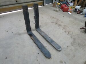 Class Iii 48 Forklift Forks 6 Inches Wide Cascade New