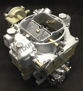 1956 Mercury Wcfb Carter Carburetor Remanufactured