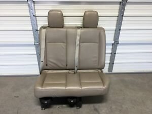 2011 2018 Nissan Nv 3500 Van Seat 2nd Or 3rd Row Tan Leather