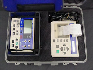 Avo biddle 246006 C bite Compact Battery Condition Tester With Printer