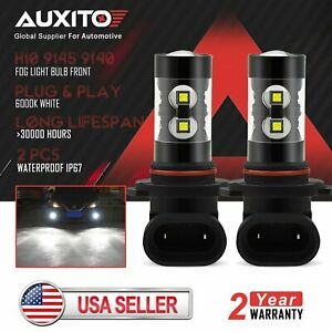Auxito H10 9145 9140 Fog Light 6000k Xenon White Fit For 2002 2005 Ford F 150