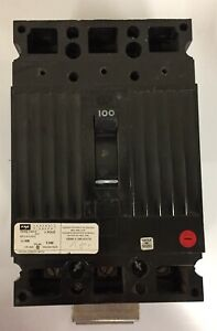 Fpe Federal Pioneer 100a 240v 3p Circuit Breaker Ced Frame Ced 2