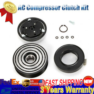 Air Conditioning Compressor Clutch Kit Fit For Ford 6 0l F 250 F 450 F 350 F 150