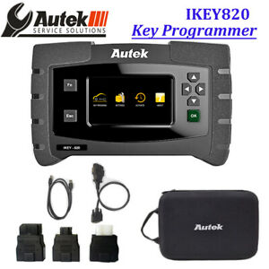 Autek Ikey820 Key Programing Read Pin Code Car Key Fob Programmer For Locksmith