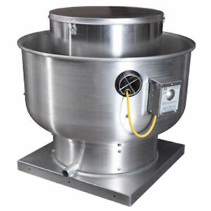 New Commercial Kitchen Restaurant Exhaust Blower For 6 7 Hood New