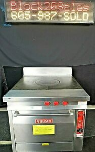 Natural Gas Oven Range Vulcan Heavy Duty French Top