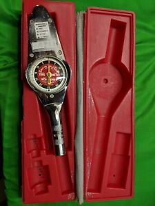 Snap On Torqometer Te3a Torque Wrench Vintage