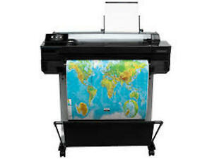 New Hp Designjet T520 24 large format Inkjet Printer Ships Today By 5pm See Map