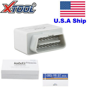 Usa Stock Iobd2 Bluetooth Obd2 Eobd Auto Diagnostic Scanner For Iphone android