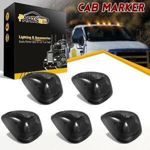 5xsmoke 264143bk Top Clearance Cab Marker 16 Amber Led Lights For 99 16 Ford E f