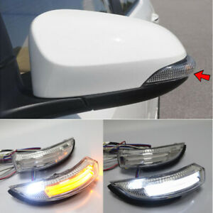 For Toyota Camry 2012 17 Corolla Led Mirror Courtesy Parking Turn Signal Light