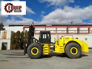 Lift King Lk30c 30 000 Lbs Rough Terrain Forklift Side Shift 4x4 Low Hours