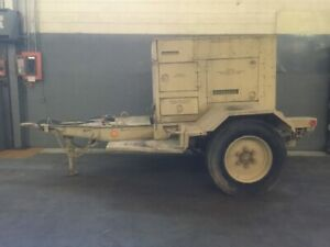 Military Trailer Mounted Generator Mep 804a