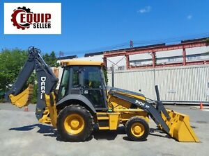 2014 John Deere 310k Ep Backhoe Enclosed Cab Heat And Ac