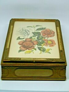 Vintage Jewelry Box Wooden Unique Style 2923