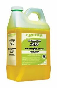 Betco Green Earth Daily Floor Cleaner 76 Oz Yellow Pack Of 4 Bottles