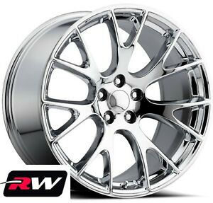 22 Inch Chrysler 300 Oe Replica Staggered Wheels Srt Hellcat Chrome Rims
