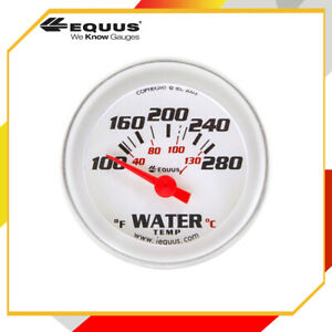 Equus 8262 8000 Series Water Temp Gauge