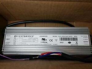 Euc Series 200 W 1 05 A 190 Vdc Out Dimmable Outdoor Constant Current Led Driver
