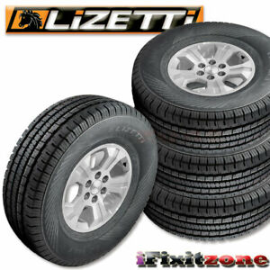 4 Lizetti Lz Hst P225 75r16 104t Quality All Season Truck Tires 225 75 16 New
