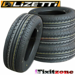 4 Lizetti Lz es1 185 60r14 82h Value All Season Performance Tires 185 60 14 New