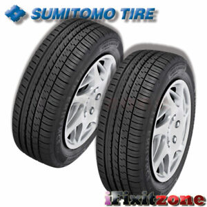 2 Sumitomo Htr Enhance L X 205 55 16 91h All Season Premium Performance Tires