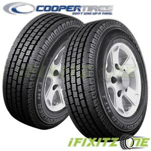 2 Cooper Discoverer Ht3 Lt265 75r16 E Premium Light Truck All Season Tires