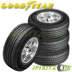 4 Goodyear Wrangler Sr A P275 60r20 114s Performance Tires