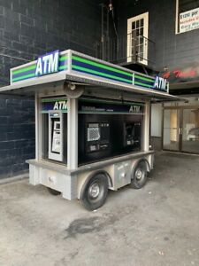Atm Trailer Kiosk For Special Events Fairs Festivals Etc