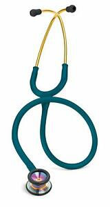 3m Littmann Classic Ii Pediatric Stethoscope Rainbow finish Chestpiece Blue 28