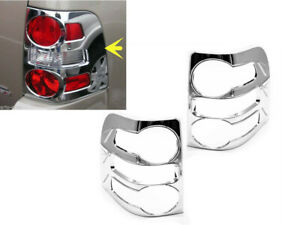 For 2007 2009 Ford Explorer Chrome Tail Light Covers