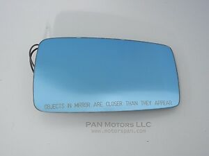 Audi 100 1998 Convertible Right Side Heated Mirror Glass Blue Tinted Cabriolet