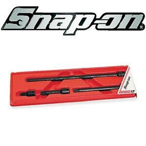 Snap On 4 Pc 3 8 Snap Ring Drive Impact Extension Set 204imxa Brand New