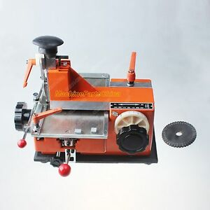 3mm Label Semi automatic Sheet Embosser Metal Stamping Printer Marking Machine