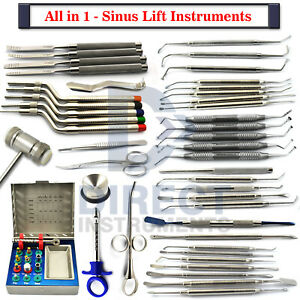 All In 1 Sinus Lift Instruments Elevators Chisels Dental Implant S