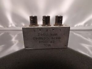 Mcl Mini circuits Zp 10514 Rf Radio Frequency Microwave Bnc Filter