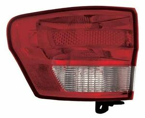 2011 2012 Jeep Grand Cherokee New Left driver Side Tail Light