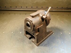 Hardinge H4 5c 24 stop Collet Rotary Index Fixture Indexer Used Good Condition