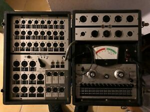 Vintage Laboratory Tube Tester Part Number 1076ba Dynamic Mutual Conductance