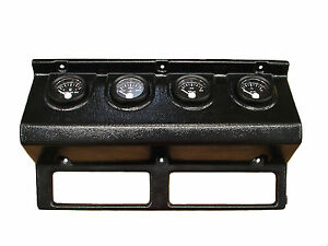1993 1995 Jeep Wrangler Yj Dash Instrument Panel With Gauges Black