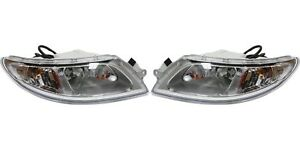 New Left Right Headlight Pair For 2005 2006 2007 2008 2015 Ic Ce School Bus