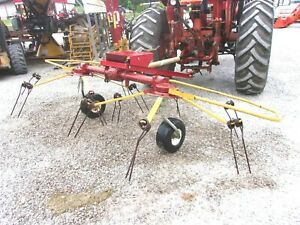 Used 2 Basket Hay Tedder 10 Ft can Ship Cheap And Fast
