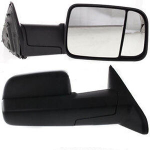 2010 2011 Dodge Ram 1500 Pickup Right Passenger Side View Door Towing Mirror