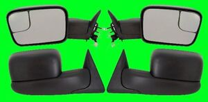 Dodge Ram 2500 Base 1999 2000 2001 Power Side Mirrors Pair