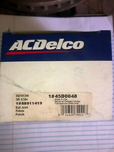 Suspension Ball Joint Front Upper Acdelco 45d0048