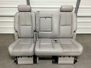 2007 2014 Suburban Escalade Esv Yukon Xl 2nd Second Row Gray Bench Seat