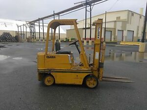 1964 Clark C50b 5000lb Forklift 0945 Hours As Is