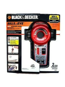 Black Decker Bulls Eye Auto leveling Laser With Sensor New Improved Bdl110s